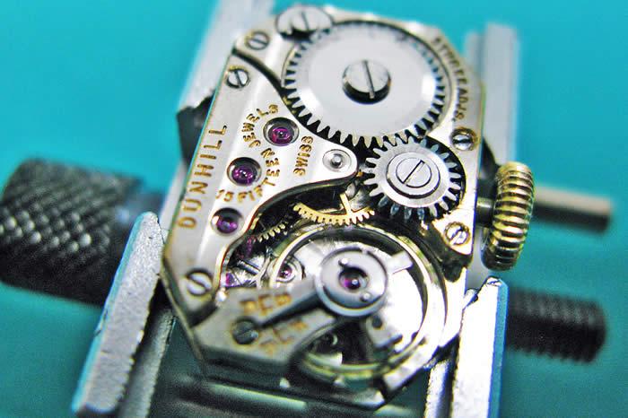 ダンヒル ユニーク 銀無垢 ウォッチライター 1928年製 スターリングシルバー 手巻き オーバーホール済み