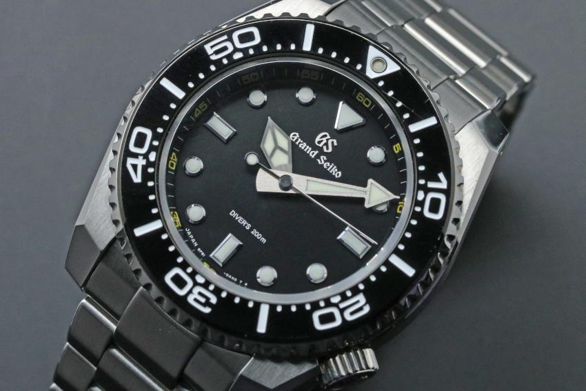 Grand Seiko Sport Collection divers Quartz Tough GS SBGX335