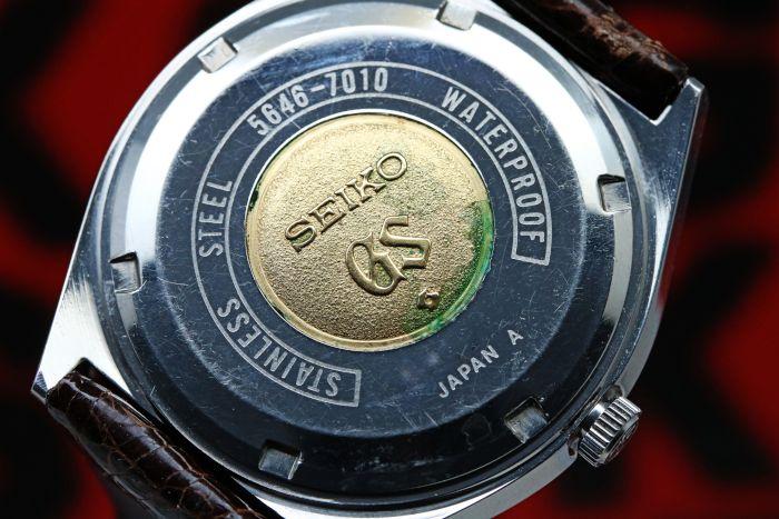 グランドセイコー 56GS 5646-7010 自動巻き 1971年3月 オーバーホール済み