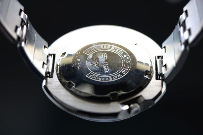 セイコー 5アクタス ビッグケース 1969年8月 6106-8410 自動巻き オーバーホール済み