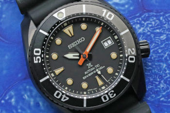 Seiko Prospex DIVER SCUBA The Black Series Limited Edition SBDC095