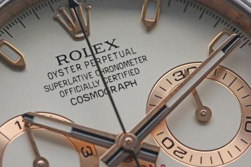 ロレックス デイトナ 116515LN 文字盤インデックスの画像