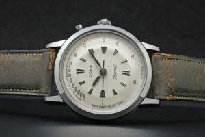 ドクサ(Doxa Sfygmos)脈拍計時計 ワンプッシュクロノ 7003-4 バルジュー23 手巻き オーバーホール済み