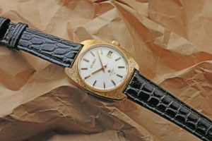 グランドセイコー45GS Ref.4522-8010 槌打仕上げ18金無垢 GS尾錠 1970年7月 手巻き オーバーホール済み