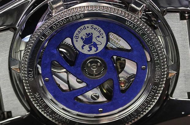 グランドセイコー メカニカルGMT 10周年記念限定モデル SBGM029
